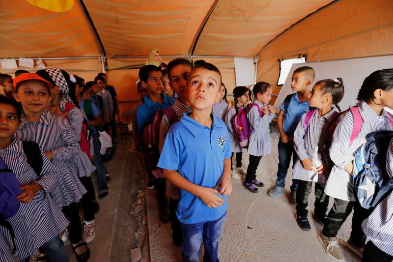 EU lets Israel destroy West Bank schools it funded | The ...
