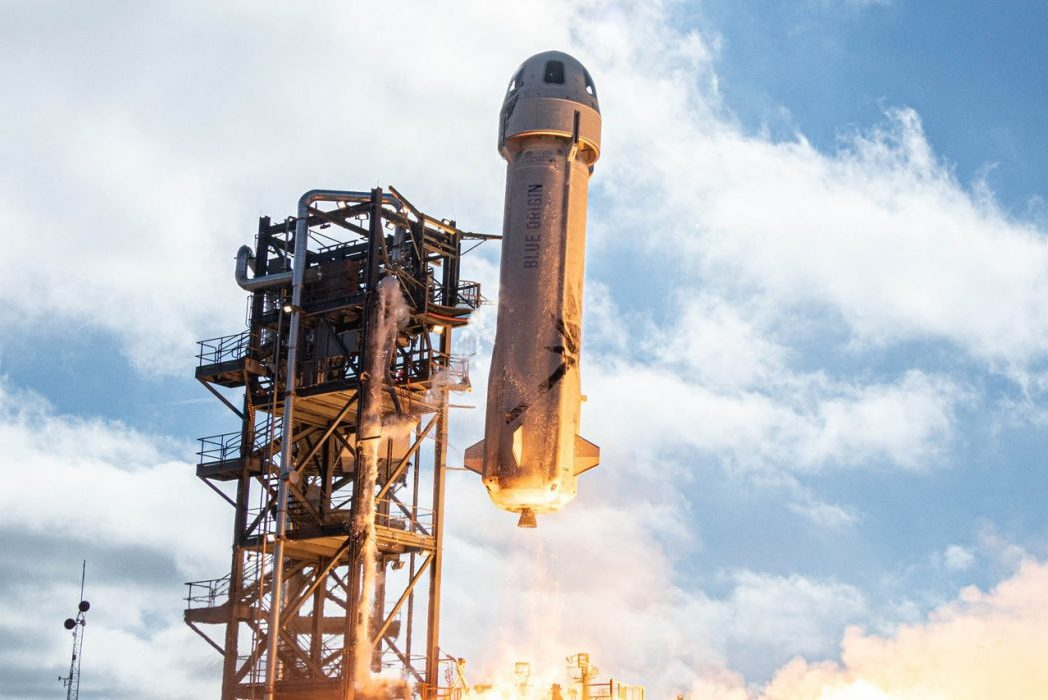 Blue Origin by Jeff Bezos Successfully Launches Spaceflight