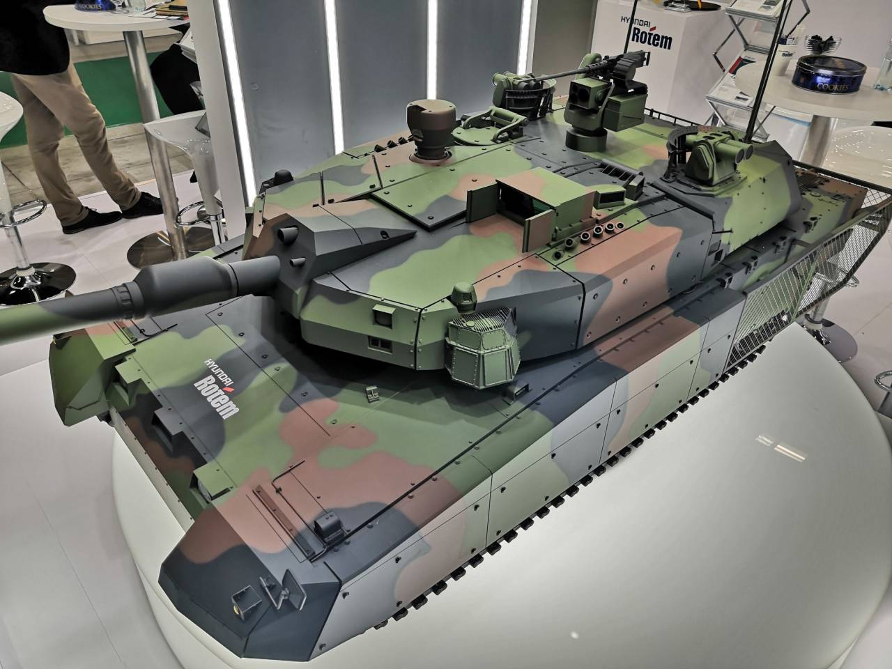 Project MBT K2PL. Perspective without perspective