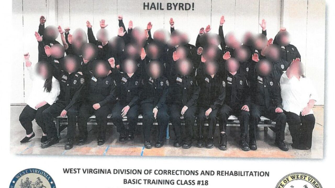 More than 30 West Virginia corrections cadets and staff fired over photo of Nazi salute…