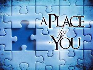 Finding your place in life, your purpose, your human will ...