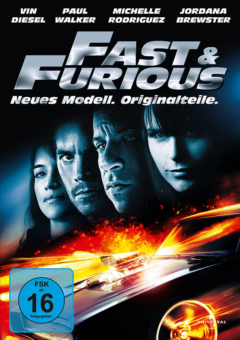 Fast & Furious - Neues Modell. Originalteile. - DVD ...