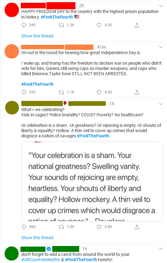 Instead of fireworks this year, we have nuclear takes from Wokesters. : TumblrInAction