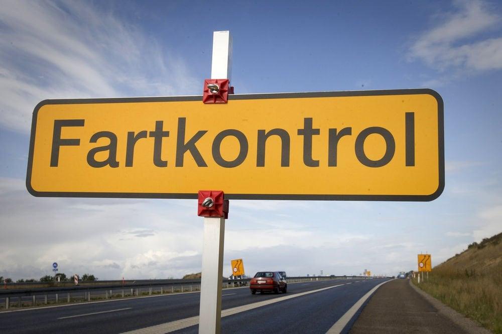 """Believe it or not, but here in Denmark """"Fart-kontrol ..."""