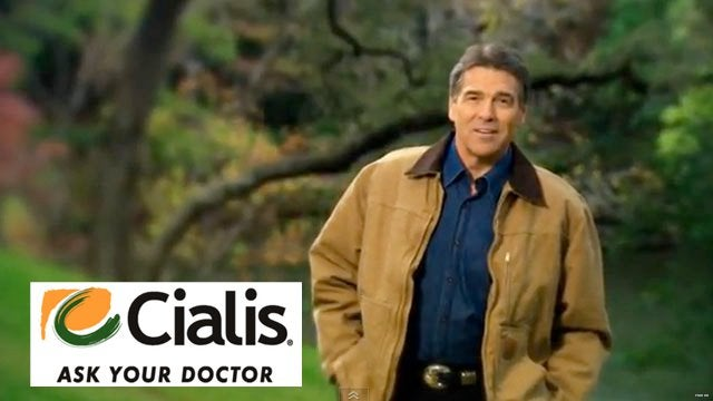 """Anyone else think Rick Perry's """"Strong"""" ad was actually a ..."""