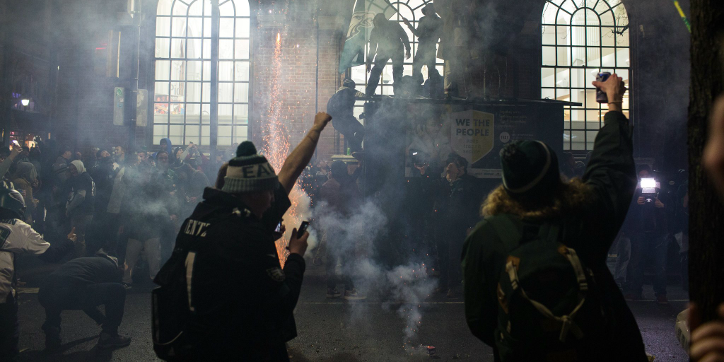 'Violence' Becomes 'Unruliness' When It's Sports Fans, Not ...