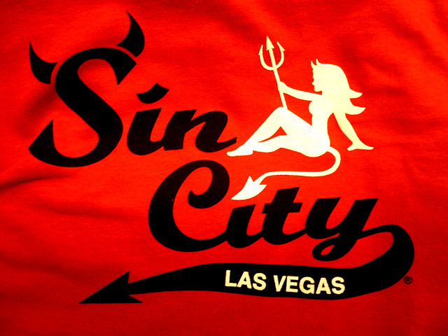 Las Vegas Sin City t-shirt | Feike Kloostra | Flickr