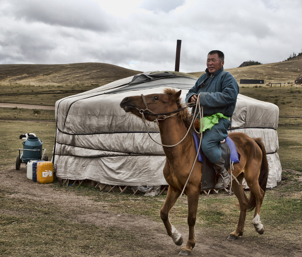 The World's Best Photos of mongolia and yurt - Flickr Hive ...
