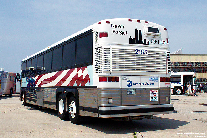 MTA: Remembering 9/11 Through Express Coach MCI D4500 ...