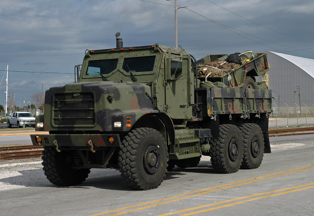 Marine Corps AMK23 Cargo Truck | This AMK23 Armored 7 Ton ...