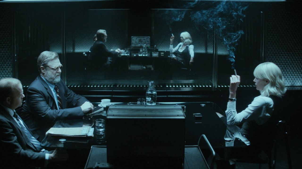 Charlize Theron Kicks Ass in 'Atomic Blonde' While Wearing Dior, Saint Laurent and Burberry ...