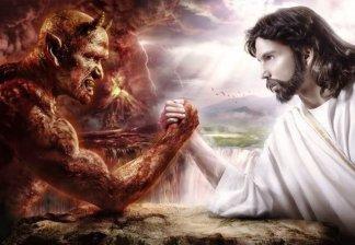 Good versus evil is a battle between God, My Eternal ...
