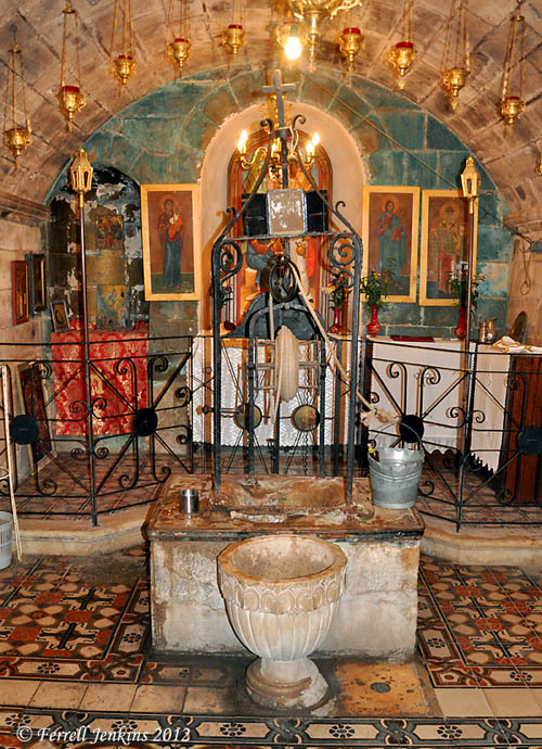 Jacob's Well — from Jacob to Jesus | Ferrell's Travel Blog