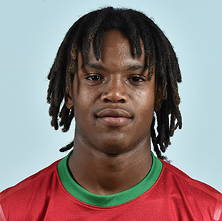 The 19-year old son of father (?) and mother(?), 176 cm tall Renato Sanches in 2017 photo