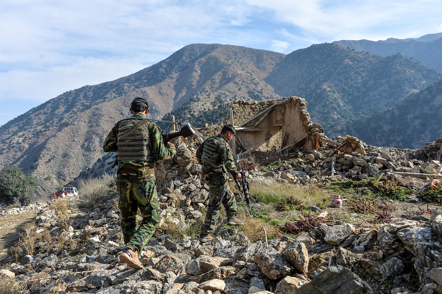 'Afghanistan Papers' Reveal Spin Effort to Continue a ...