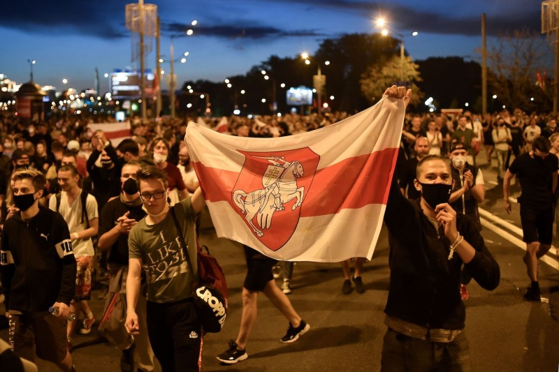 Thousands Protest Election Results in Belarus as ...