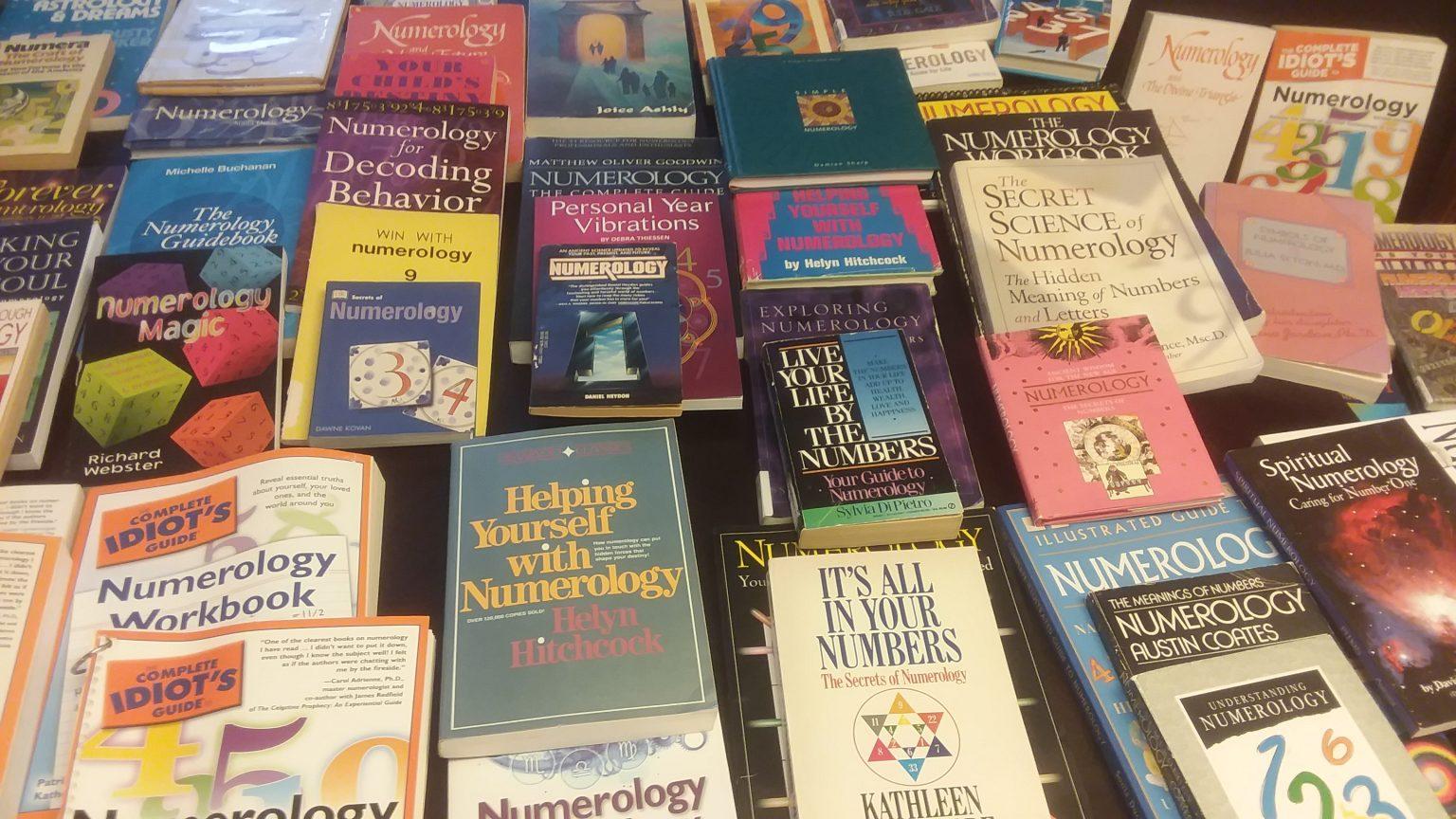 Used Numerology books - Numerology Rising