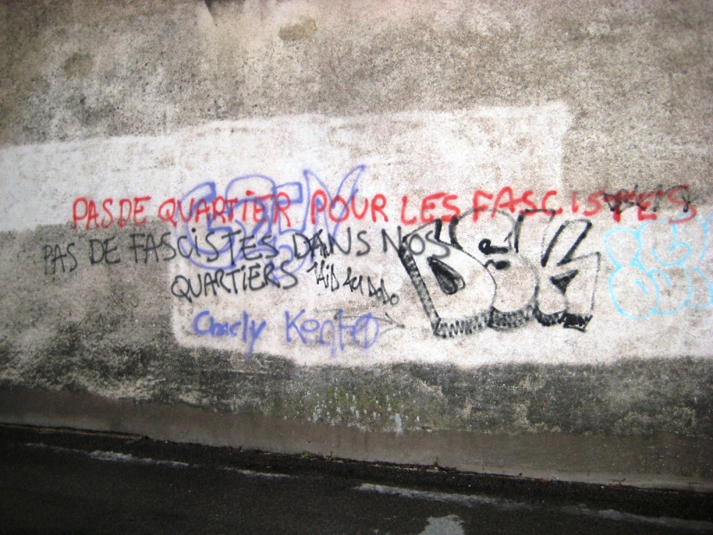 Tags antifa – Besançon | Fragmentdetags