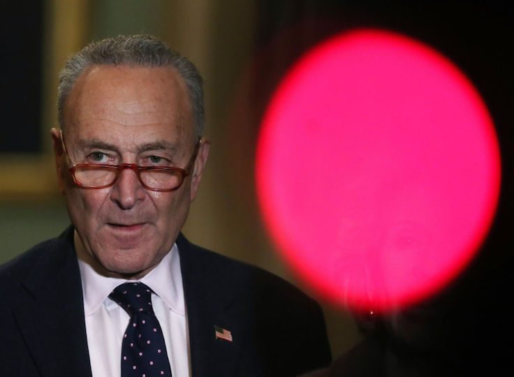 Schumer-Tied PAC Received $1.7 Million From Dark Money Group…