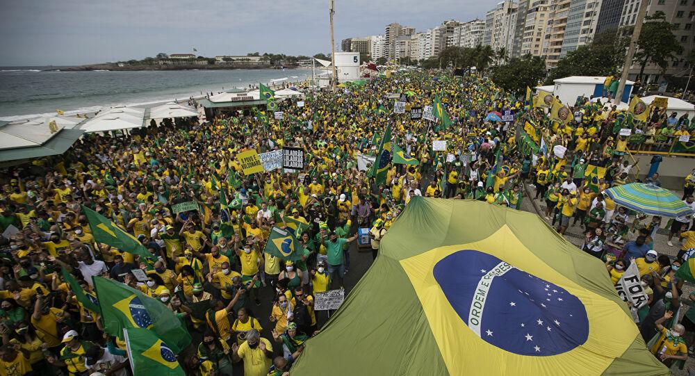 Vídeos e fotos mostram multidões nas manifestações de 7 de ...