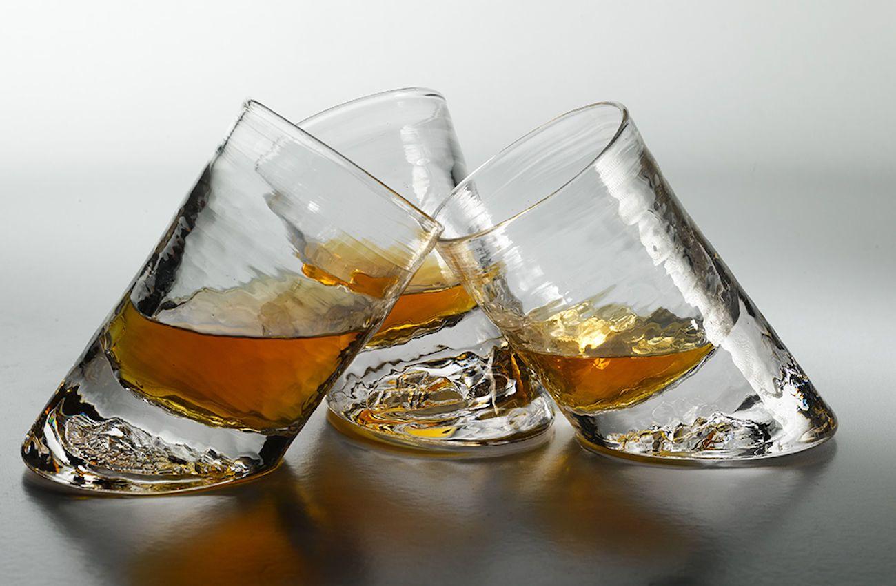 Glassblower Ben Slanted Bar Glasses » Gadget Flow