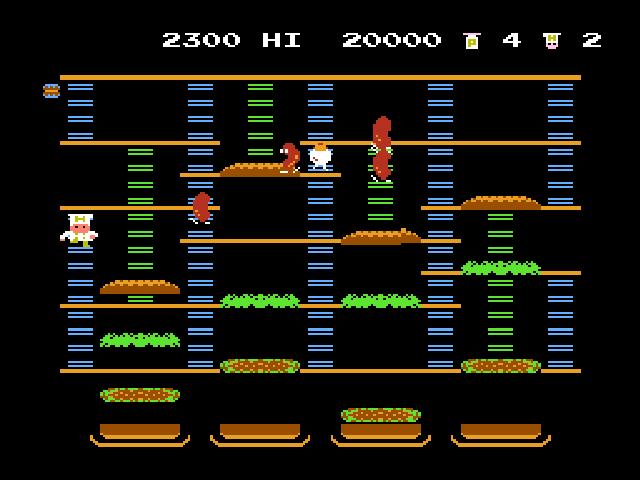 Burgertime Download Game | GameFabrique