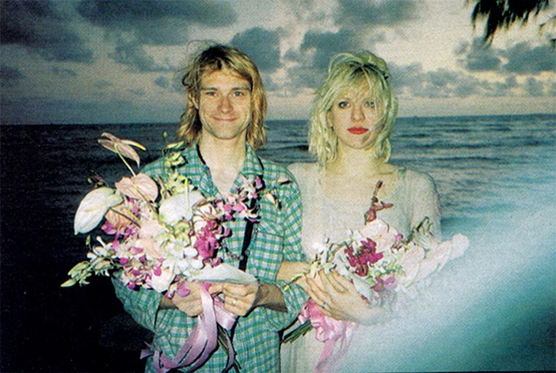 Kurt Cobain y Courtney Love: Una controvertida historia ...