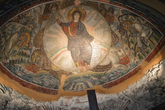 The Unbearded Jesus: The Story of the 5th Century Mosaic of Latomou Monastery St David of ...