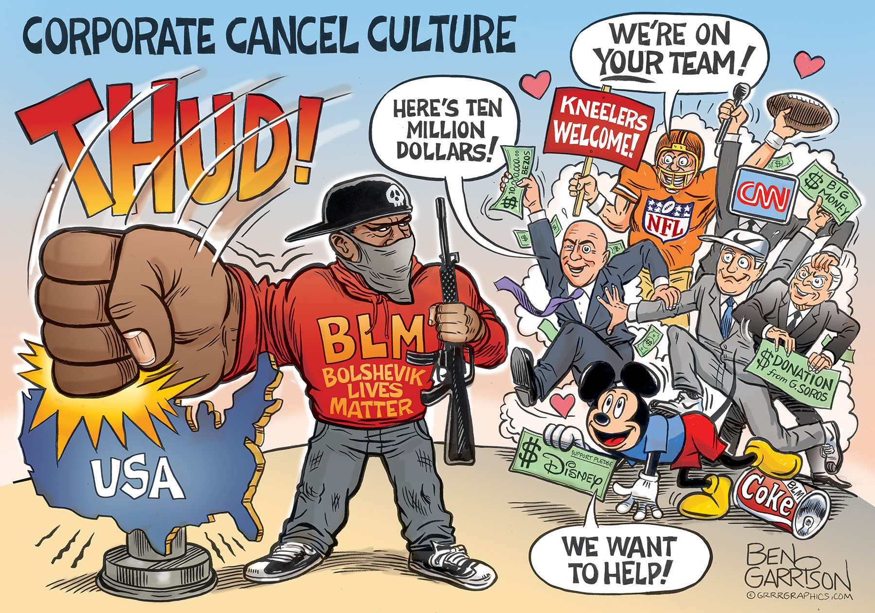 CORPORATE CANCEL CULTURE – The Burning Platform