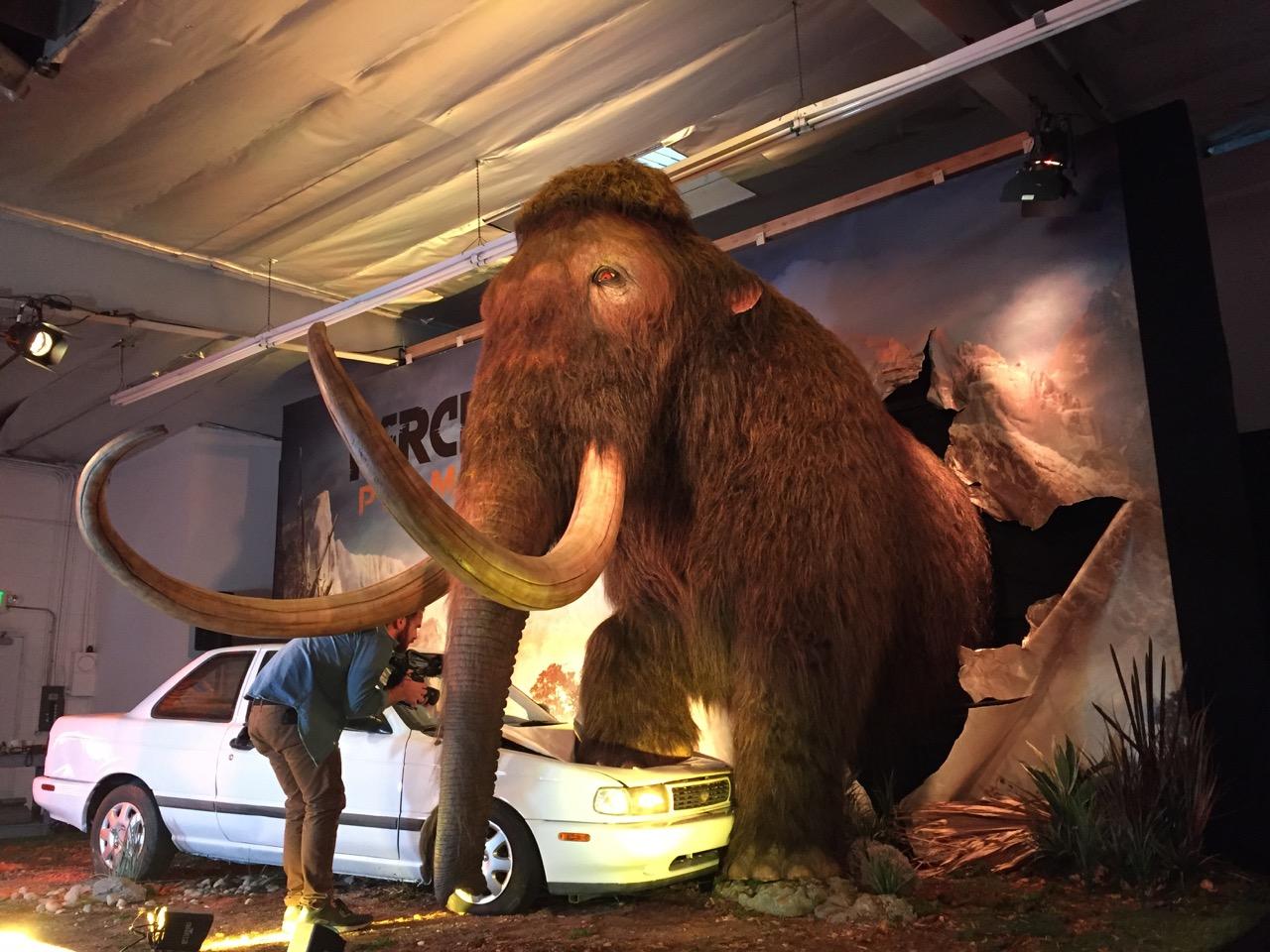 Watch a Woolly Mammoth Crush a Car for Far Cry Primal ...