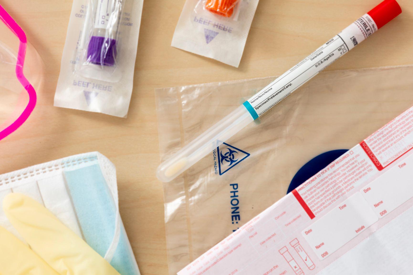Corona-Test für zu Hause | Healthcare Mittelhessen