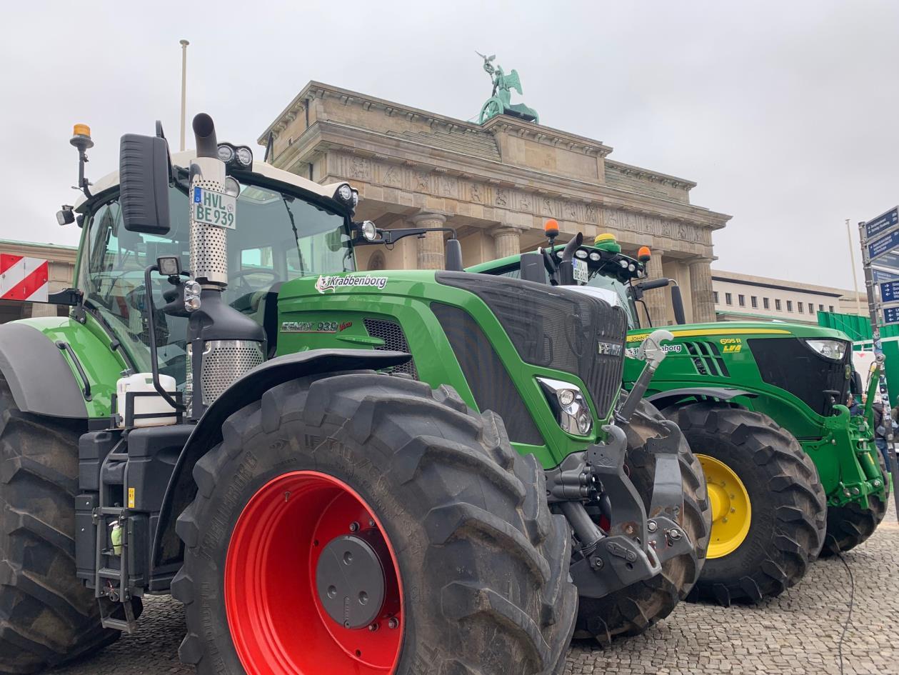 Landwirte: Protest erreicht Berlin