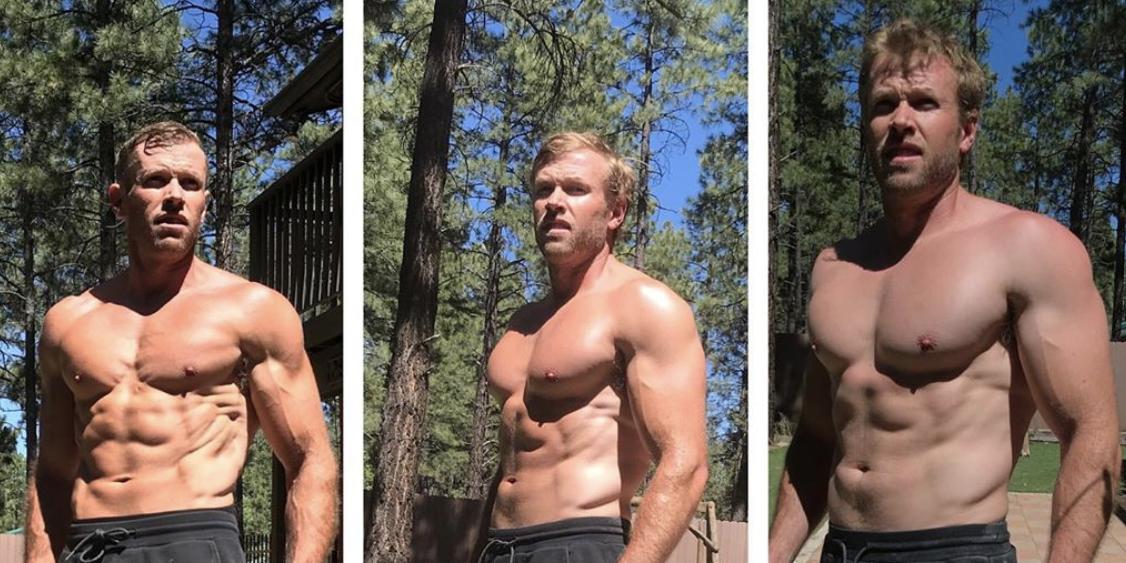 Olympian Ryan Hall Looks Shredded in New Shirtless ...