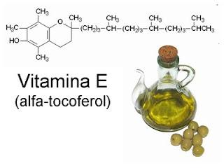 vitamina E y aceite