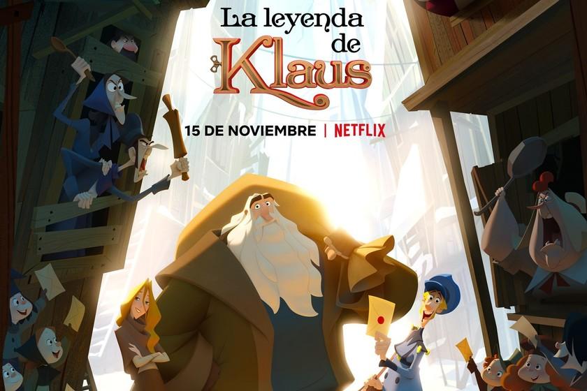 La Leyenda de Klaus: la primera película animada de ...