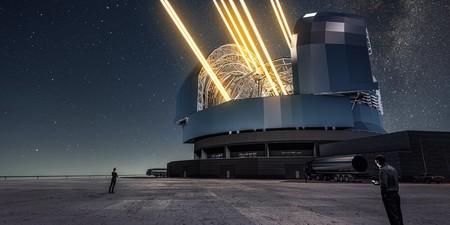 El que será el telescopio óptico más grande del mundo ...