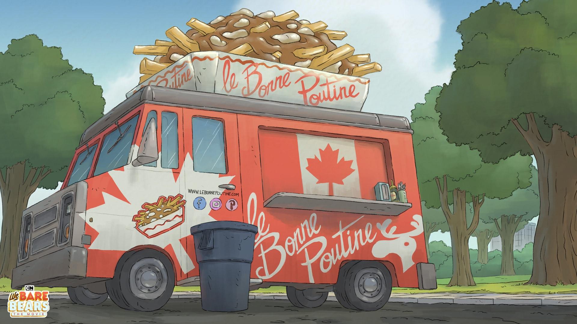 Cartoon Network: We Bare Bears Movie Backgrounds