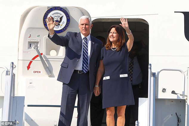 Vice President Pence, wife test negative for COVID-19…