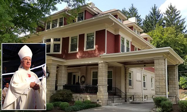 West Virginia Catholic bishop spent $4.6M renovating mansion where he 'inappropriately touched young priests'…