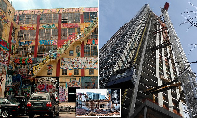 Developers ordered to pay $6.7M to 5Pointz graffiti artists whose work was 'wrongfully' destroyed to make way for luxury condos in New York…
