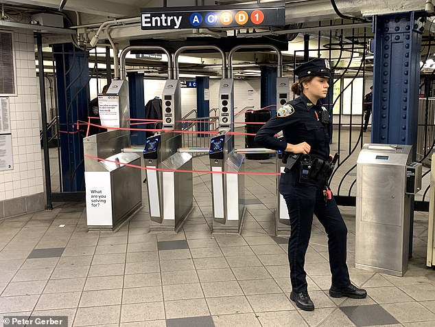NYPD Officer Dies After Shooting Herself In Columbus Circle Transit Police Station…