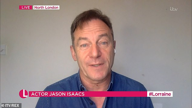 Jason Isaacs claims people who don't wear face masks ...