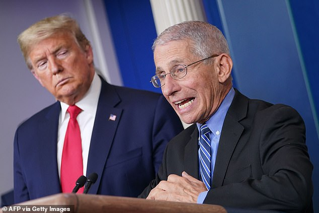 White House slams Fauci for 'playing politics' days before ...