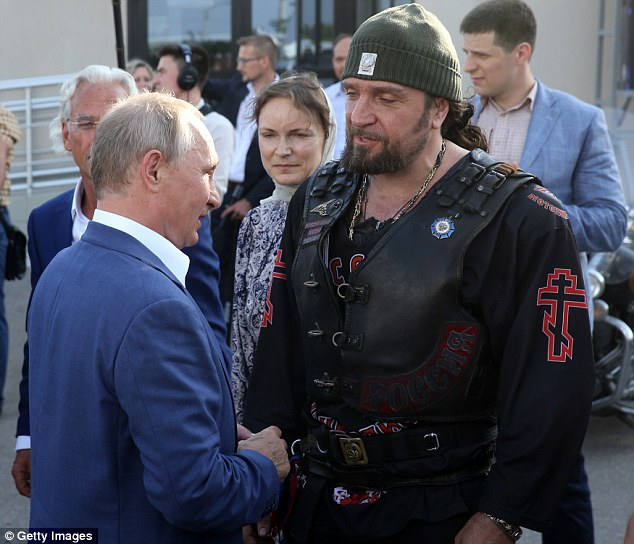 Russian Nationalist biker gang Night Wolves set up base in ...