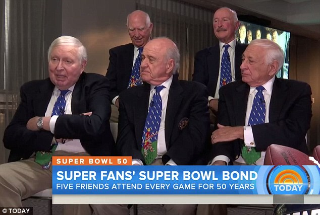 The 5 friends who have been to every Super Bowl since it ...