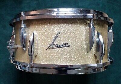Sonor D470 Snare 13x6 Goldflitter Vintage Schlagzeug ...