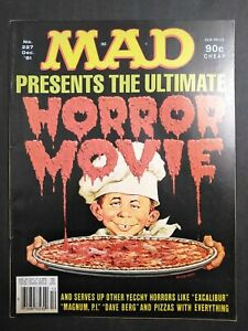 """Mad Magazine 1981 december #227 """"DAVE BERG"""" AND PIZZA WITH ..."""
