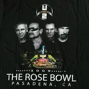U2 2009 360 Tour The Rose Bowl Pasadena California Concert ...