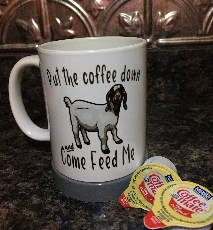 Come Feed Me Boer Goat Mug Goat Gifts Goat Lover Goat | Etsy