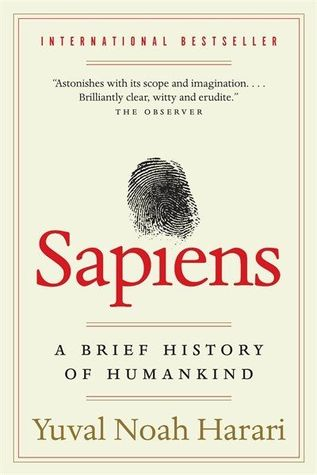 Image of the cover of 'Sapiens: A Brief History of Humankind'